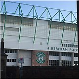 NT2774 : West stand, Easter Road Stadium by Richard Webb