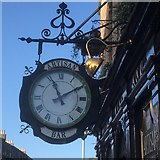 NT2774 : Clock, Artisan Bar by Richard Webb