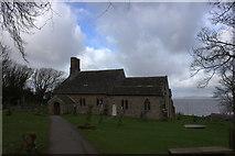 SD4161 : St Peter's church, Lower Heysham by Robert Eva
