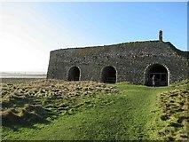 NU1341 : Lime Kilns, Lindisfarne by Les Hull