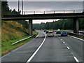 NS5256 : Aurs Road Bridge over the M77 by David Dixon