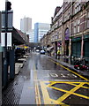 ST3188 : Rainy Upper Dock Street, Newport by Jaggery