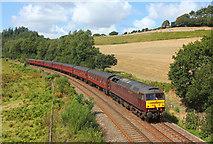 SX1061 : Railway near Restormel by Wayland Smith