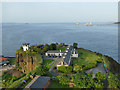 NT1380 : North Queensferry. former coastguard houses and signal station by Stephen Craven