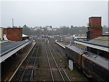 SO8555 : Worcester Shrub Hill Station - there it was gone! by Chris Allen