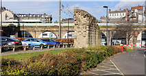 NZ2463 : Fragment of Newcastle town wall by Trevor Littlewood