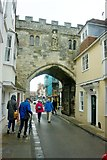 SU1429 : High Street Gate, Salisbury by Noisar