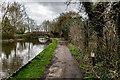 SJ8840 : Bridge 106 and Milepost 52-40, Trent Mersey Canal, Trentham by Brian Deegan