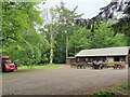 NZ0882 : Cafe and Visitor Centre, Bolam Lake by Chris Morgan