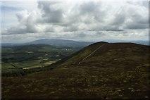 R6517 : View towards Knockmealdown Mountains from Seefin Mountain by Colin Park