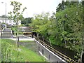 SJ9297 : New access to the Ashton Canal at Guide Bridge by Gerald England