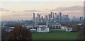 TQ3877 : Docklands from Greenwich Observatory by Christine Matthews
