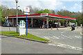 NZ2105 : Fuel Forecourt at Scotch Corner by David Dixon