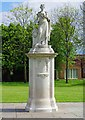 SK5337 : Beeston Boer War Memorial, Broadgate Park, High Road, Beeston, Nottingham by P L Chadwick