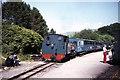 SN7376 : Vale of Rheidol Railway at Devil's Bridge by Colin Park