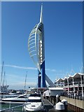 SZ6299 : The Spinnaker Tower, Portsmouth by David Hillas