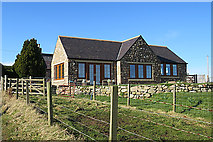 NJ1661 : Restored Steading or New Build? by Anne Burgess