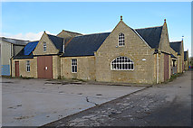 NJ1262 : Old Steading at Wester Alves by Anne Burgess