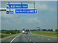 SE3574 : Northbound A1(M) towards Junction 50 (Baldersby Interchange) by David Dixon