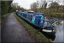 TQ1683 : Grand Union Canal towards Ballot Box Bridge by Ian S