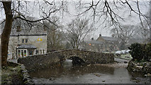 SD9062 : Malham on a snowy morning by habiloid