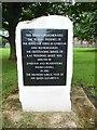 SU0279 : RAF Commemoration Stone, Lyneham by David Hillas