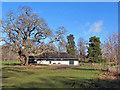 NH4858 : Caberfeidh Shinty Club pavilion by Richard Dorrell