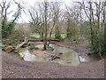 TQ3298 : Turkey Brook near Enfield by Malc McDonald