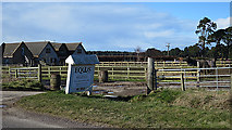 NJ1265 : Entrance to Equus by Anne Burgess