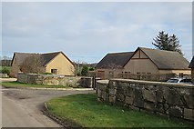 NJ1464 : New Houses at Longhillock by Anne Burgess