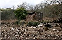 NS4573 : Minewatchers' post by Richard Sutcliffe