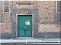 SE2833 : Detail of Burley Street telephone exchange, Leeds by Stephen Craven
