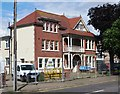 TM1715 : Westleigh House frontage - council offices now demolished by Duncan Graham