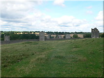 S4943 : Outer walls and towers of Kells Priory by Eirian Evans