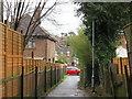 TQ5941 : Footpath near High Brooms station by Malc McDonald