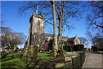 SE1942 : St Oswald's Church, Guiseley by Ian S