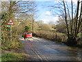 TQ5638 : Flooding on High Rocks Lane, near Tunbridge Wells by Malc McDonald