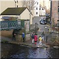 NT2473 : Water of Leith, Dean Village by Richard Webb