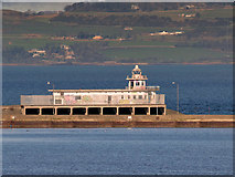 NT2677 : Western Harbour Lighthouse at Leith by David Dixon