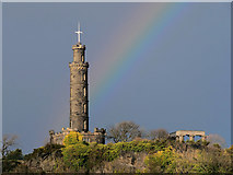 NT2674 : The Nelson Monument on Calton Hill by David Dixon