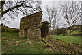 SK0161 : Derelict Barn, The Roaches by Brian Deegan