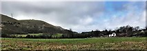 TQ2411 : View west from the footpath south of Fulking by Ian Cunliffe