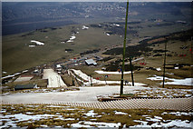 NT2466 : Artificial ski slope at Hillend, Edinburgh by Colin Park
