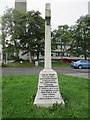 NT5731 : Newtown  district  war  memorial by Martin Dawes