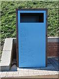NZ3573 : Themed Waste Bin, Northern Promenade by Geoff Holland