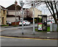 ST3387 : BT phonebox on a Liswerry corner, Newport  by Jaggery
