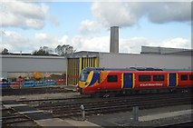 TQ2572 : Wimbledon Traincare Centre by N Chadwick