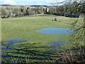 NY9922 : Waterlogged land just below the summit of Crosset Hill by Christine Johnstone