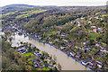SJ6703 : Ironbridge flood barrier by Andrew Abbott