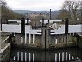 SE1040 : Leeds & Liverpool Canal - top of Bingley five-rise by Chris Allen